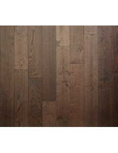 Массивная доска Woodline Дуб Dark Brown